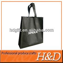 Elegant screen print pp blank non woven mk tote bag