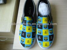 New Customized Design Non-Lace Men Canvas Shoes Manufacturer