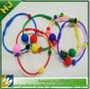 silicone round beaded bracelet