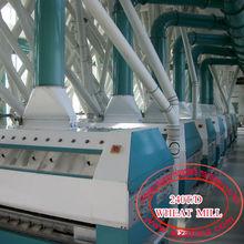 5-1000t/24h wheat flour mill plant European standard Pneumatic roller mill, Plansifter, purifier, Automatic packing machine