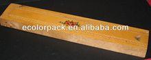 Slide lid wooden pen packaging gift box wholesale