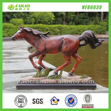 Home Tabletop Resin Racing Horse