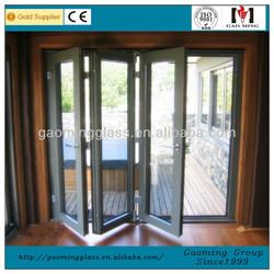 solid frame/aluminum frame glass door