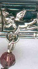 Angel Take Rhinestone Italian Charms Jewelry