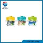 Custom advertising folded&flat brochure samples of art