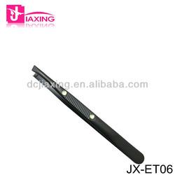 false eyelash tweezer/eyebrow tweezers/slanted tweezer