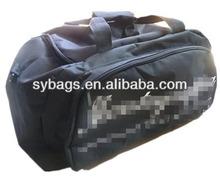 new design black travel bag on wheels