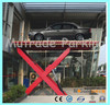hydraulic scissor elevator car show used