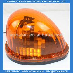 car rotating beacon light/emergency revolving 12V amber lamp