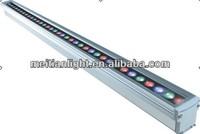 36w rgb waterproof dj led light bars