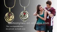 Wholesale fashion Movie Jewelry 2012 Vampire Diary Elena Vervain Box Pendant Necklaces