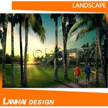 Modern Beautiful Ecological Landscape Design