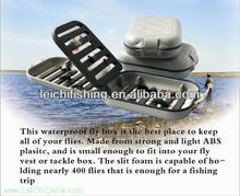 Low MOQ foam insert small plastic fly fishing tackle box