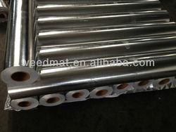 High standard pass SGS fire retardant testing aluminium foil laminated with woven fabric