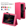 """High Quality PU Leather Folio Media Stand Case Cover Bag For Sony Xperia Tablet Z 10.1"""" Android PC Tablet"""