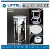 cylinder twisttable stand