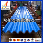 Galvanized color coated corrugated steel roofing sheets
