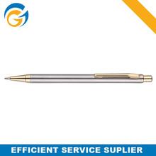 2 Color Sliver Gold Metal Ball Pen