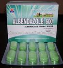 Albendazole Bolus/tablet 250mg/300mg/600mg/2500mg Antiparasitic Drugs