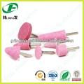 Las costuras de soldadura de eliminación, rosa óxido de aluminio montado puntos de molienda de hierro fundido para la eliminación de quitar las rebabas
