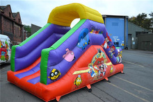 Funny Inflatable Castle Bouncer /18ft inflatable slide