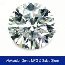 BEST SALE AAA GRADE purple heart shape cz stone gems