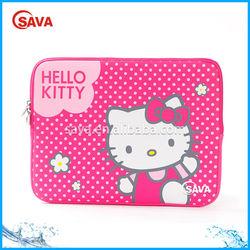 Pink Hello Kitty Neoprene Laptop Sleeve