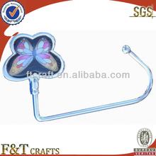 Fashion butterfly cheap hook up purse hanger