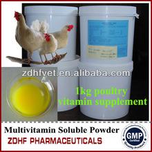 Boa qualidade Poultry vitaminas para ganho de peso