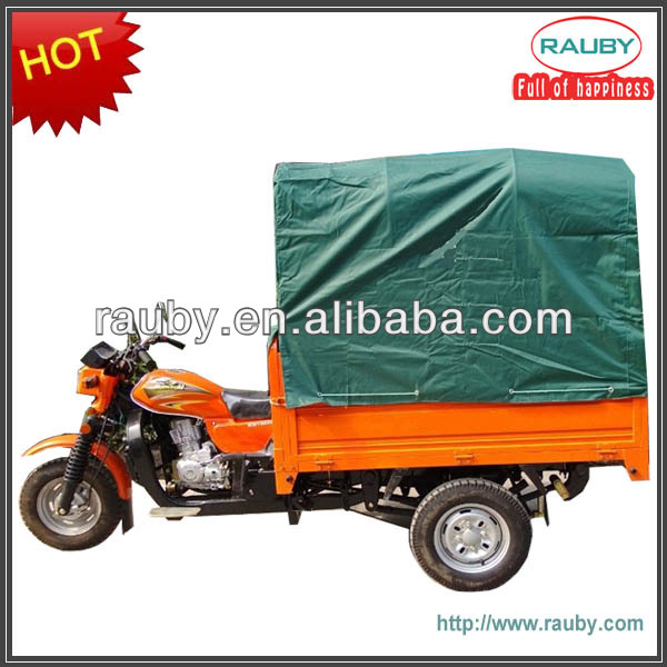 200cc cargo motor tricycle with canopy for Chile