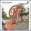 Glass Decoration Sticker,Removable Custom Silicone Sticker