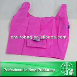 Portable Waterproof Foldable Polyester Shopping Bag