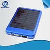 2013 new design solar power bank 5000 mAh for travel set
