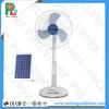 """18"""" Solar System Fan,Solar 12V Charged Fan,Low Power Fan with LED Light PLD-318"""