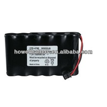 7.2v nicd rechargeable battery/ni cd battery pack 7.2v 700mah