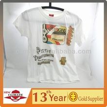 High quality cotton t-shirt custom logo wholesale China OEM.o-neck t-shirt
