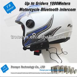 Wholesale China Up to 6 riders 1000M sena motorcycle