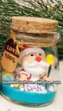 Artistic personality handmade christmas Santa Claus decorations polymer clay