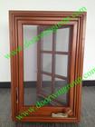 American Style Wood Aluminum Casement Window