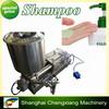 Semi automatic filling machine for Shampoo