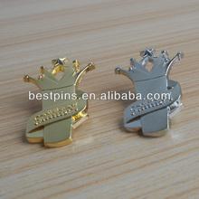 TV programme gold & silver host award brooch pin