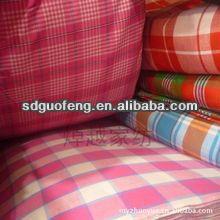 40*40 drapery soft cotton yarn dyed cross stripe shirt fabric
