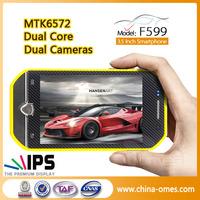 F599 MTK6572 Dual Core Car Smart Phone Cheap GSM Cell Phone