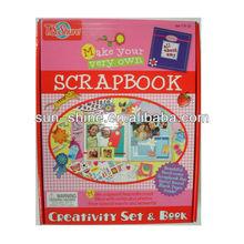 Make your very own-Scrapbook set.Creativity set & book