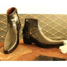 Hommes Toe lisses en cuir C10101089 Designer chaussures