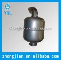4 stroke single cylinder diesel engine parts silencer muffler