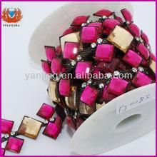 rhinestone garment accessory diamante trim