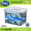 libre de la muestra hermético a prueba de agua de plástico microondas 5 galones contenedores de plástico
