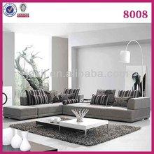High quality fabric sofa set S-8008