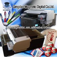 CE digital flatbed a2 size color card digital printing machine